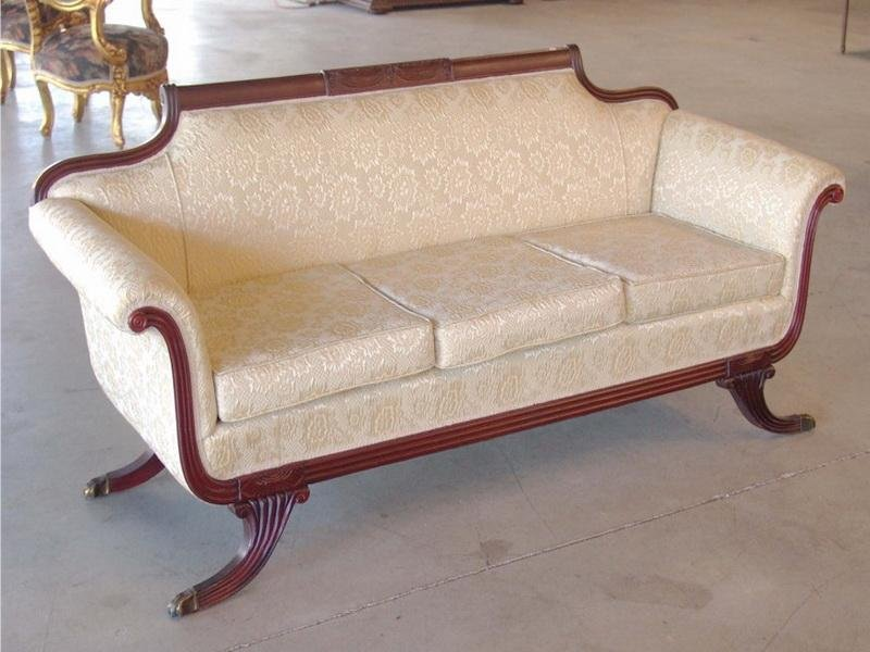 Furniture Duncan Phyfe Style Sofa Identify Making An Drop Leaf Kitchen Table