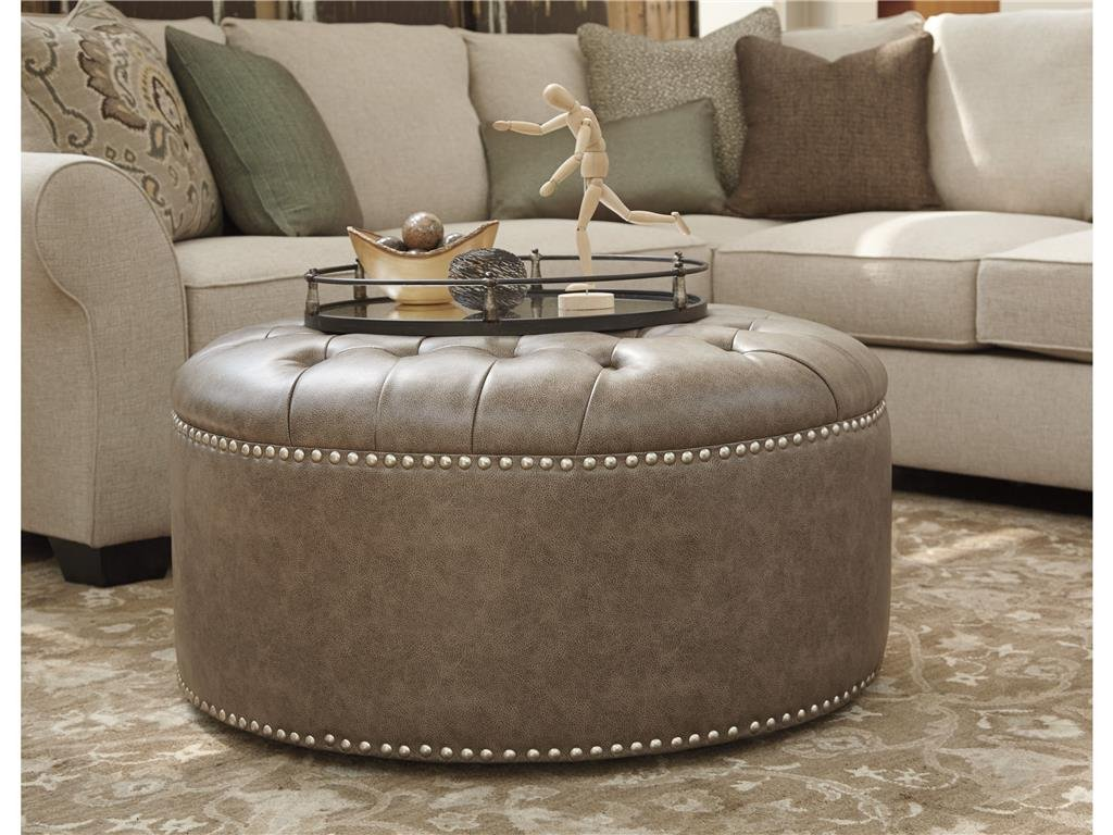Furniture Oversized Ottoman Coffee Table Stylish Square Leather Ottoman Coffee Table