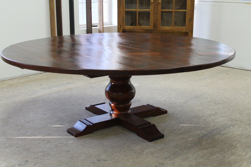 Furniture Remarkable Reclaimed Wood Dining Table Reclaimed Wood Round Dining Table