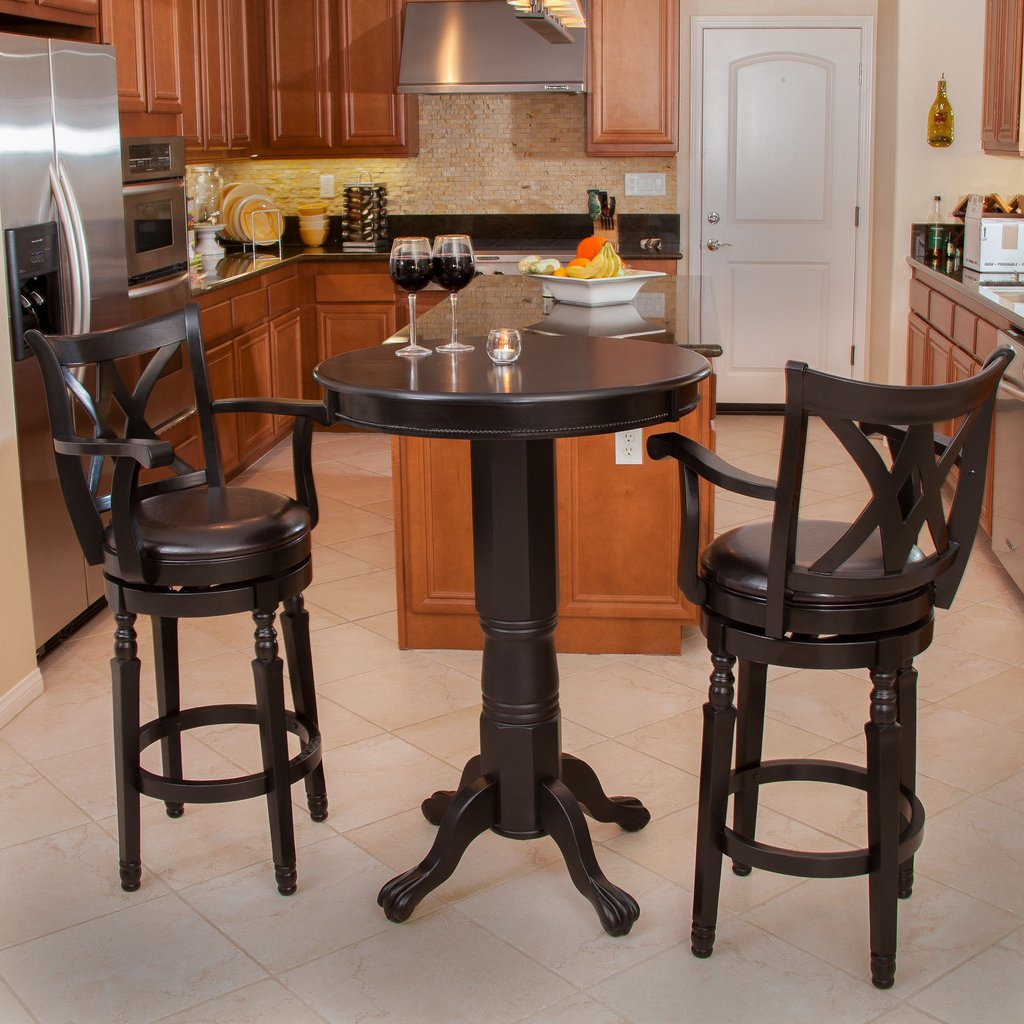 Furniture Western Bar Stool Pub Table Lone Star Bar Height Table Legs Decor