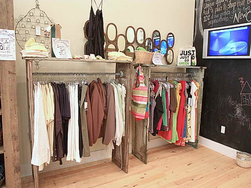 Galvanized Pipe Clothe Rack Store Closet Pipe Clothe Ideas For Wooden Clothes Rack