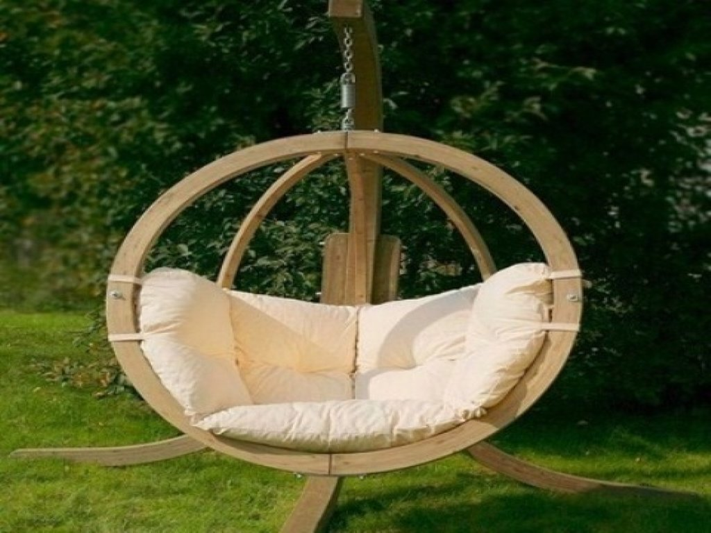 Garden Hanging Chairs Egg Chair Outdoor Furniture Hanging Wooden Porch Swings With Frame