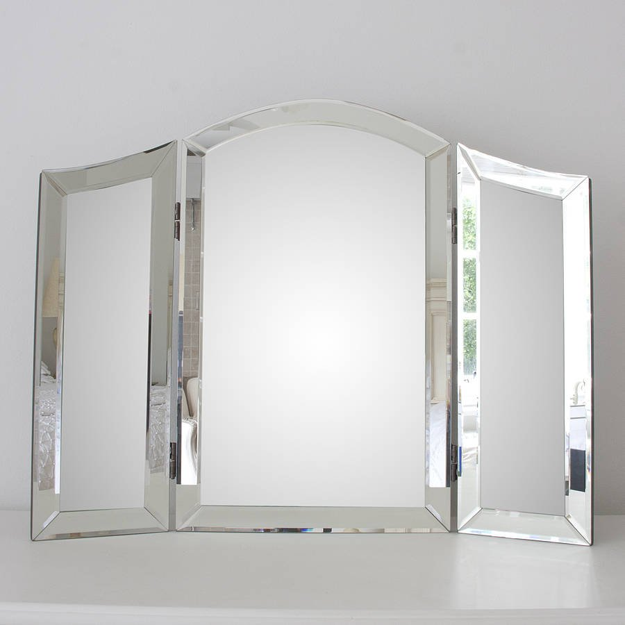 Glass Dressing Table Mirror Decorative Mirror Create Dressing Table With Mirrored Dresser