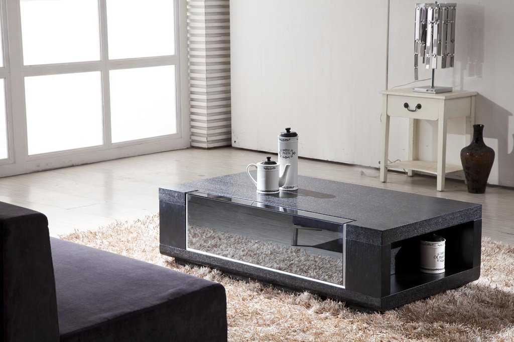Granite Coffee Table Design Image Photo Picture Modern Mirrored Console Table