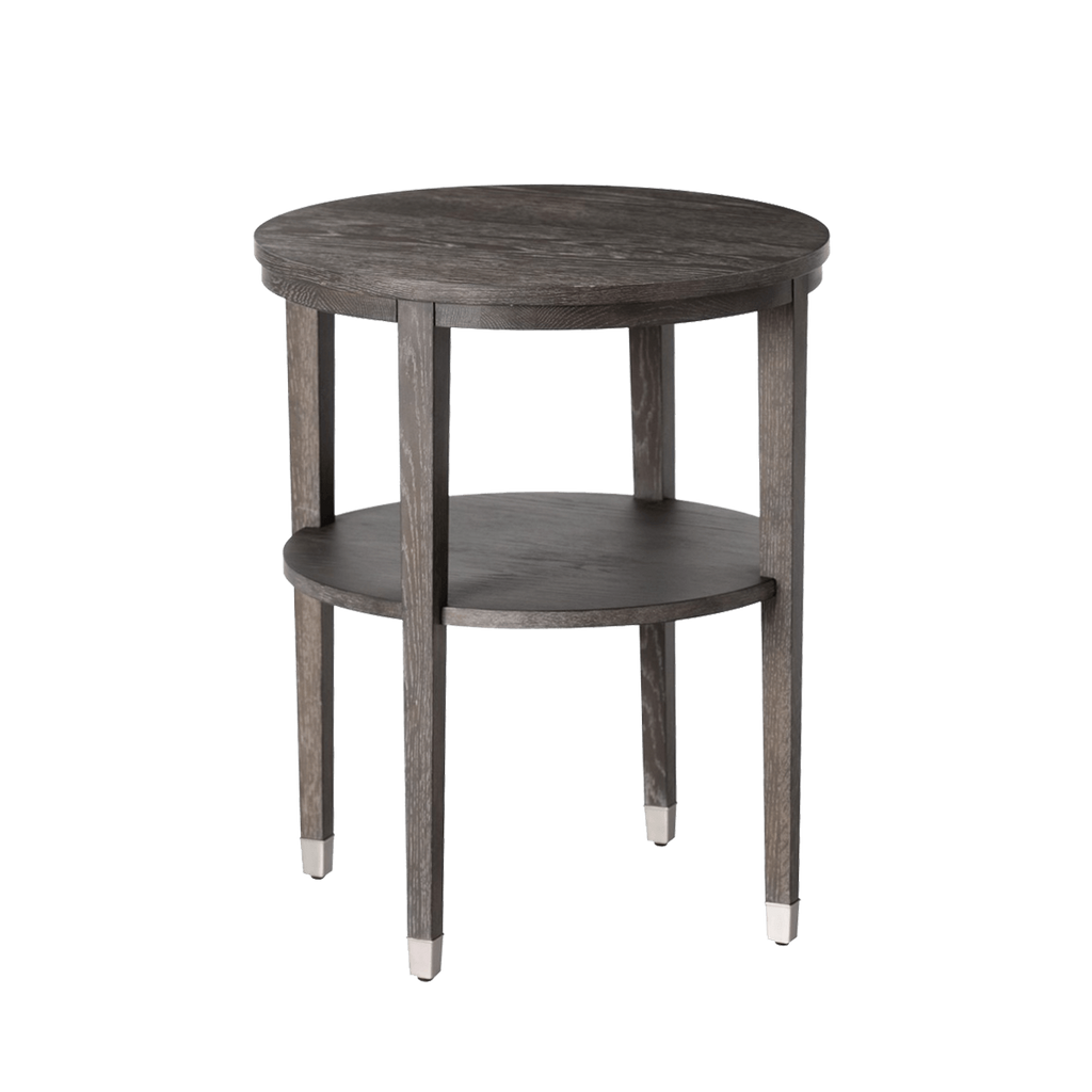 Grey Limed Oak Side Table How To Reclaimed Wood Side Table
