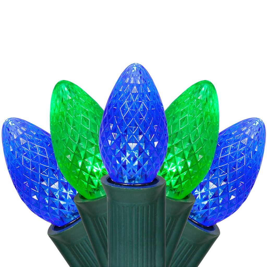 Halloween Light C7 Green Blue Commercial Led Outdoor Christmas Decorations Ideas