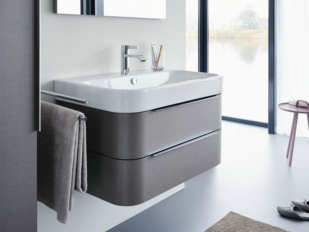 Happy 2 Vanity Unit Duravit Design Sieger Design Solid Wood Vanity Units For Bathrooms