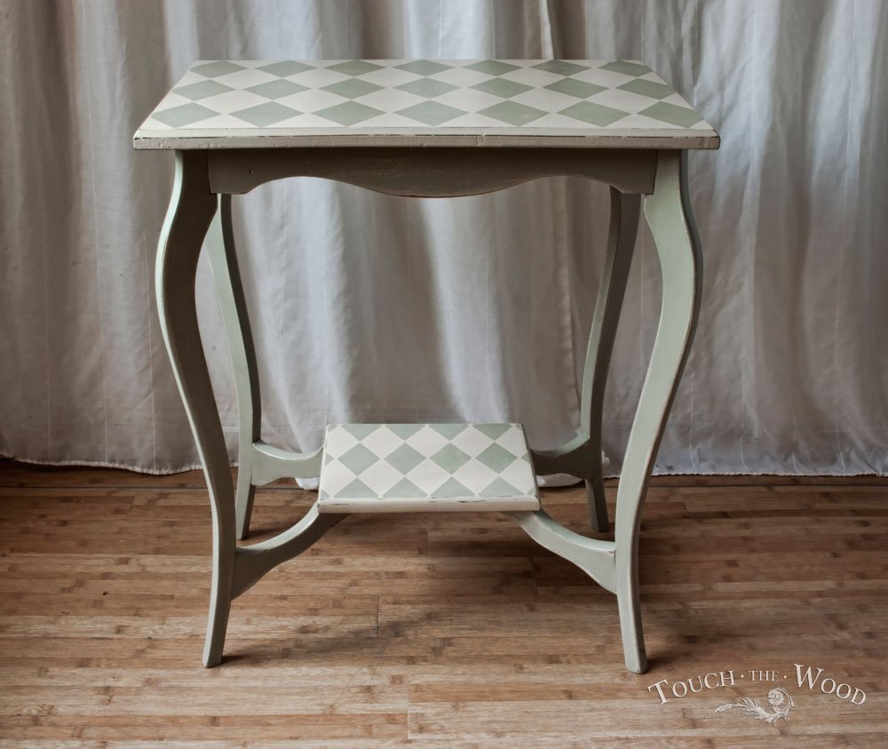 Harlequin Shabby Chic Side Table 05 Touch Wood Mirrored End Table Ideas Decor