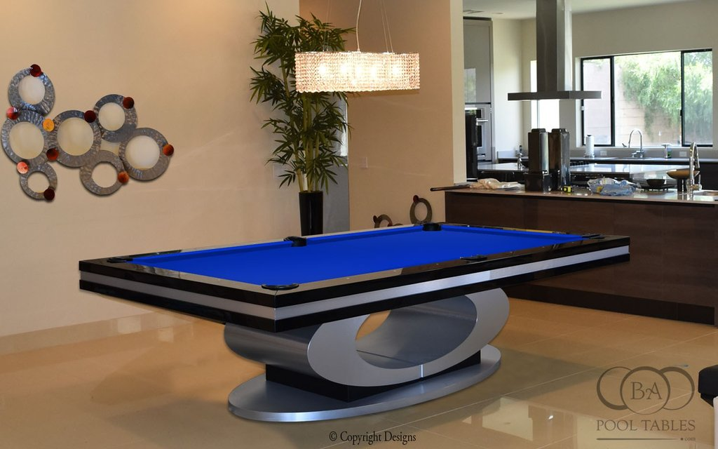 Hermosa Contemporary Pool Table Modern Pool Tables With Lighting For Sophisticated Look