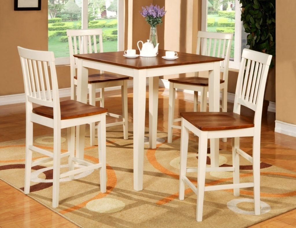 High Top Kitchen Table Set Home Interior Design Counter Height Kitchen Tables Design