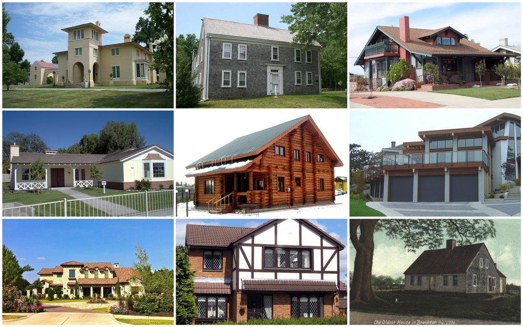 Home Style Characteristic Part 2 Popular Paint Of Wood Siding Types
