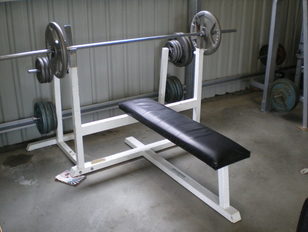 Homemade Weight Lifting Bench Home Design Idea Square Leather Ottoman Coffee Table