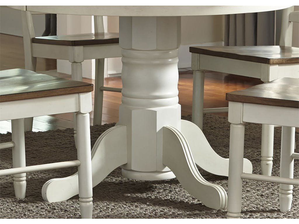 Homestead Collection Su Dining Room Pedestal Table Base Double Pedestal Dining Table Antique