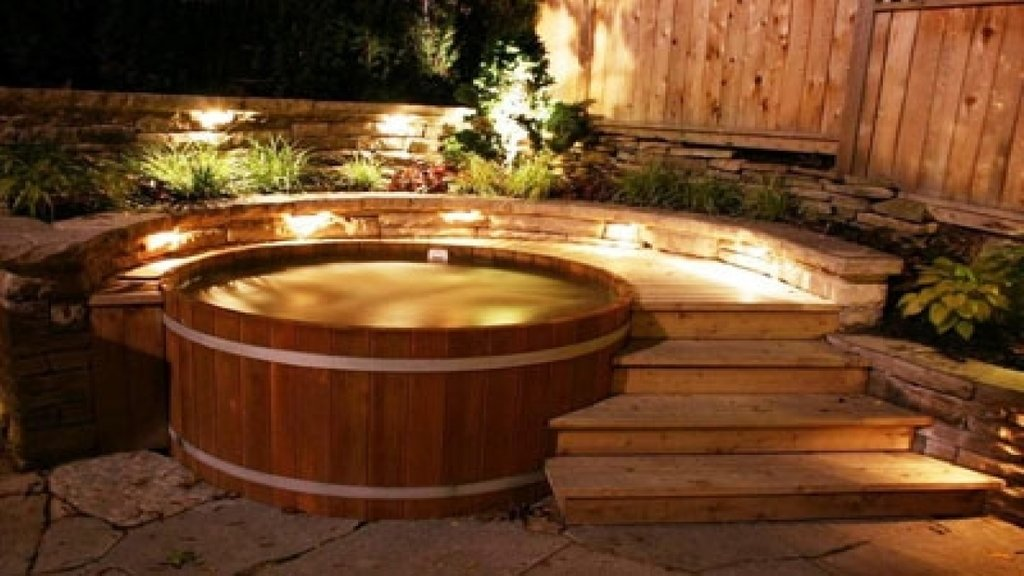 Hot Tub Decor Cedar Hot Tub Wood Fired Hot Tub Kit Sectional Sofas For Small Spaces Modern