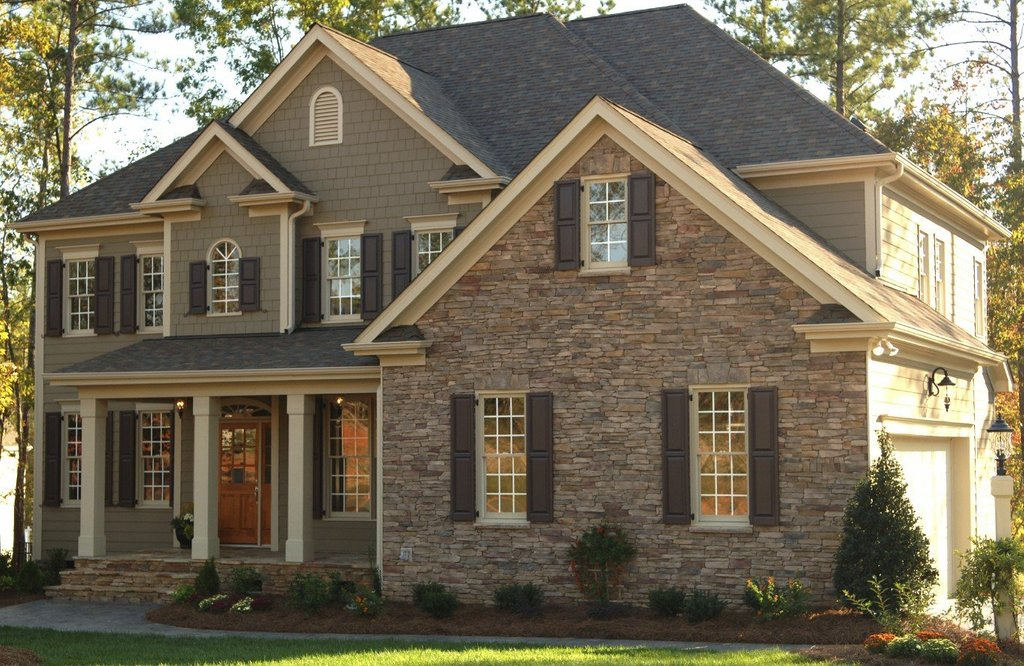 House Stone Siding Pictures Stone Siding Combination Popular Paint Of Wood Siding Types