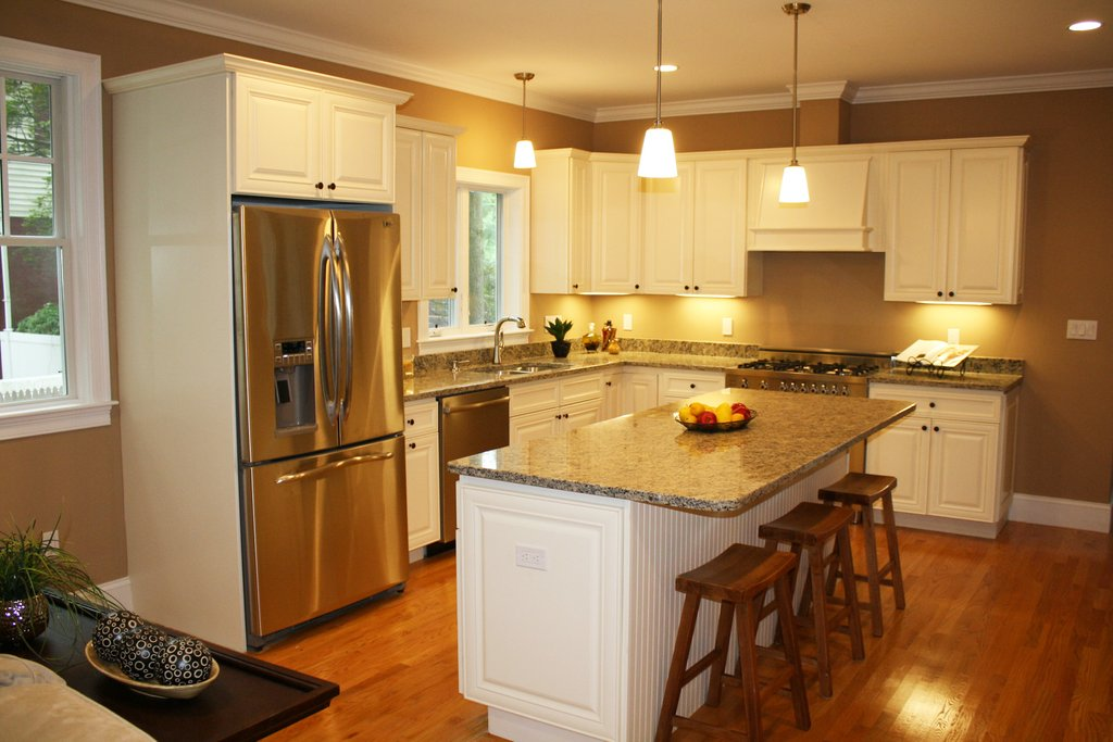 How To Paint Distressed Kitchen Cabinets Loccie Better