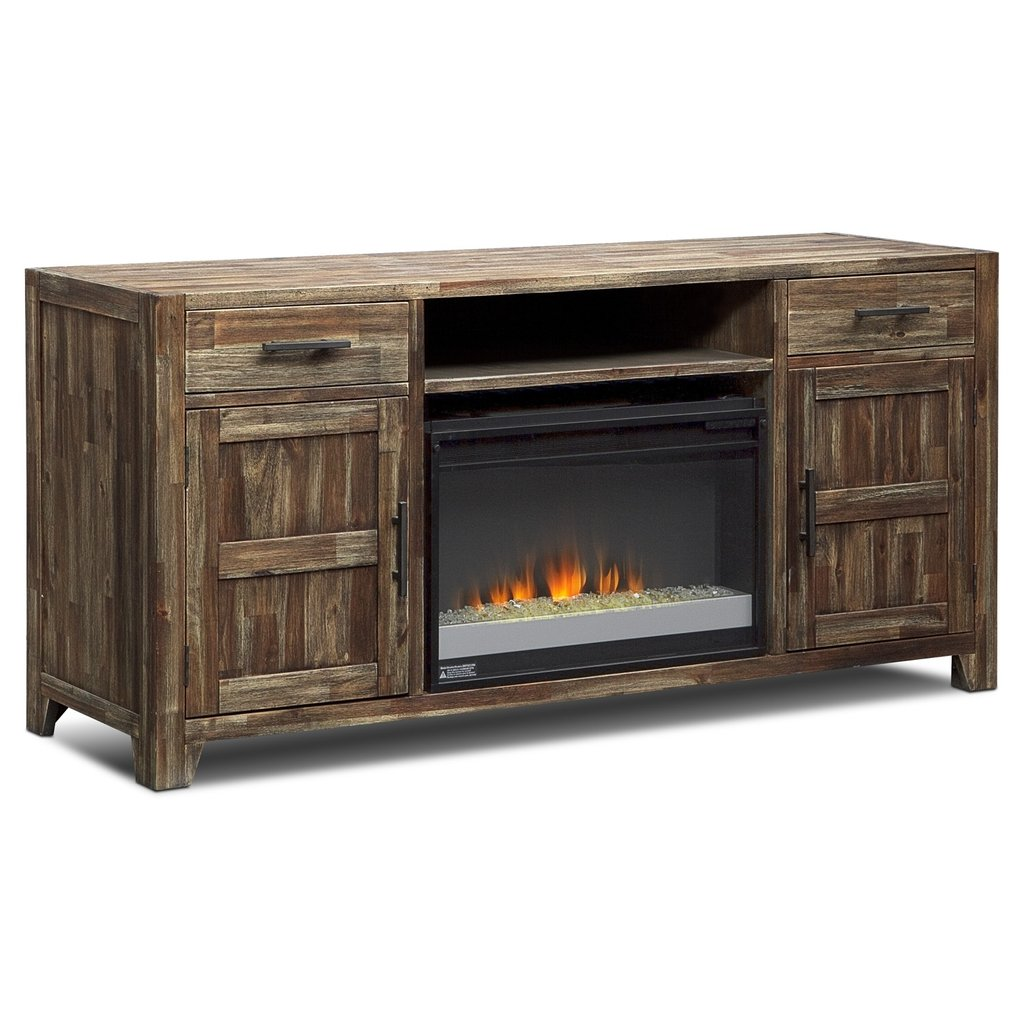 Hutchinson Entertainment Wall Unit Fireplace Tv Stand