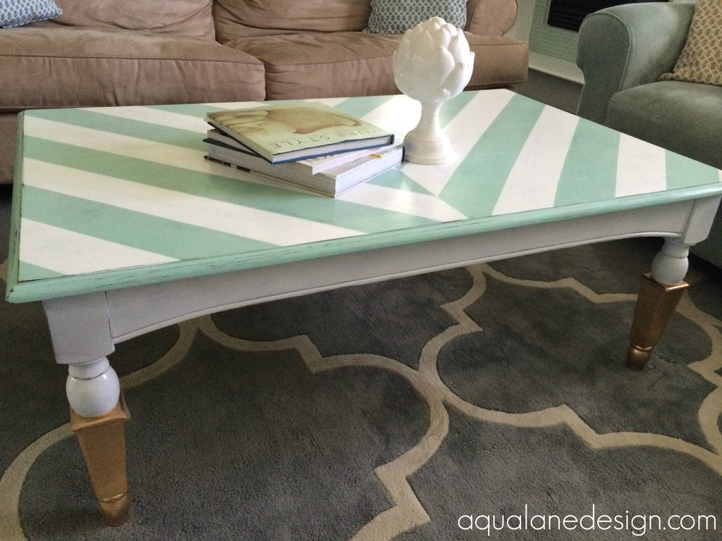 Idea Painting Coffee Table Rascalartsnyc Painted The Wicker End Tables