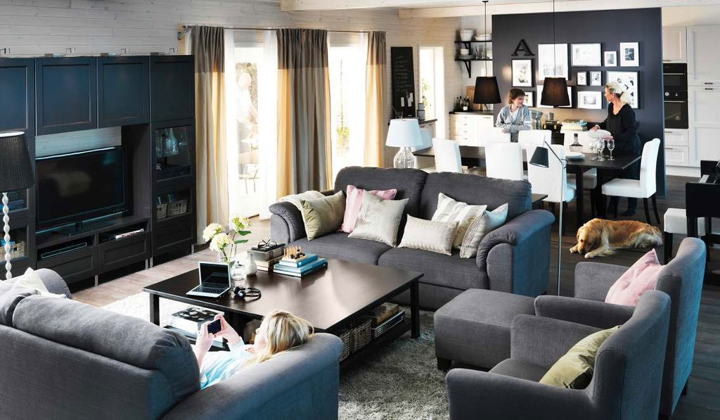 Ikea Living Room Design Idea 2012 Digsdig Tips The Best Living Room Decorating Ideas