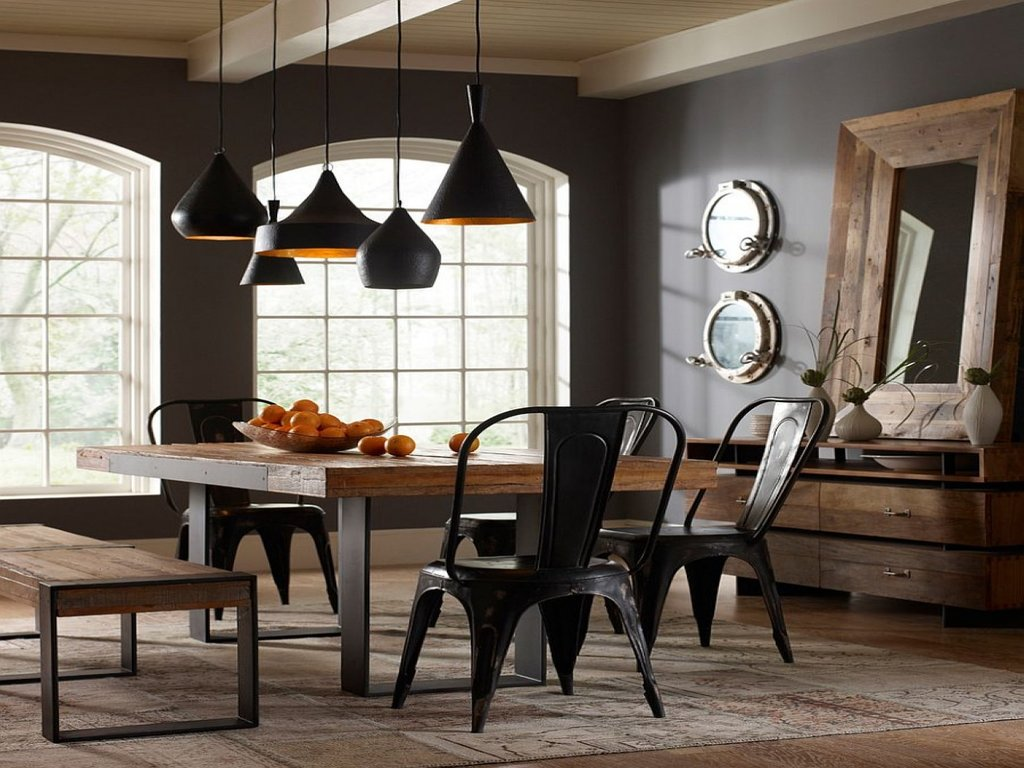 Industrial Style Office Chair Interior Decorating Dining Breakfast Nook Furniture Ideas