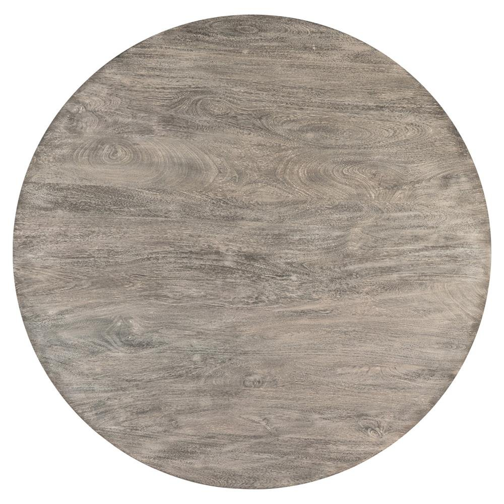 Ingo Industrial Loft Grey Wood Iron Coffee Table How To Build Round Wood Table Tops
