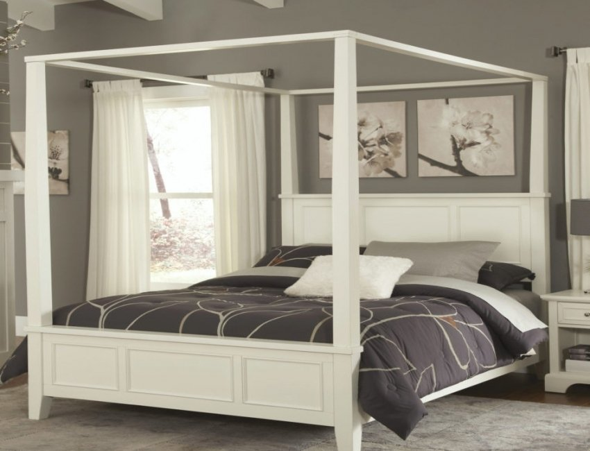 Iron Canopy Bed Frames Black Polished Iron Bed Making An Wrought Iron Headboard