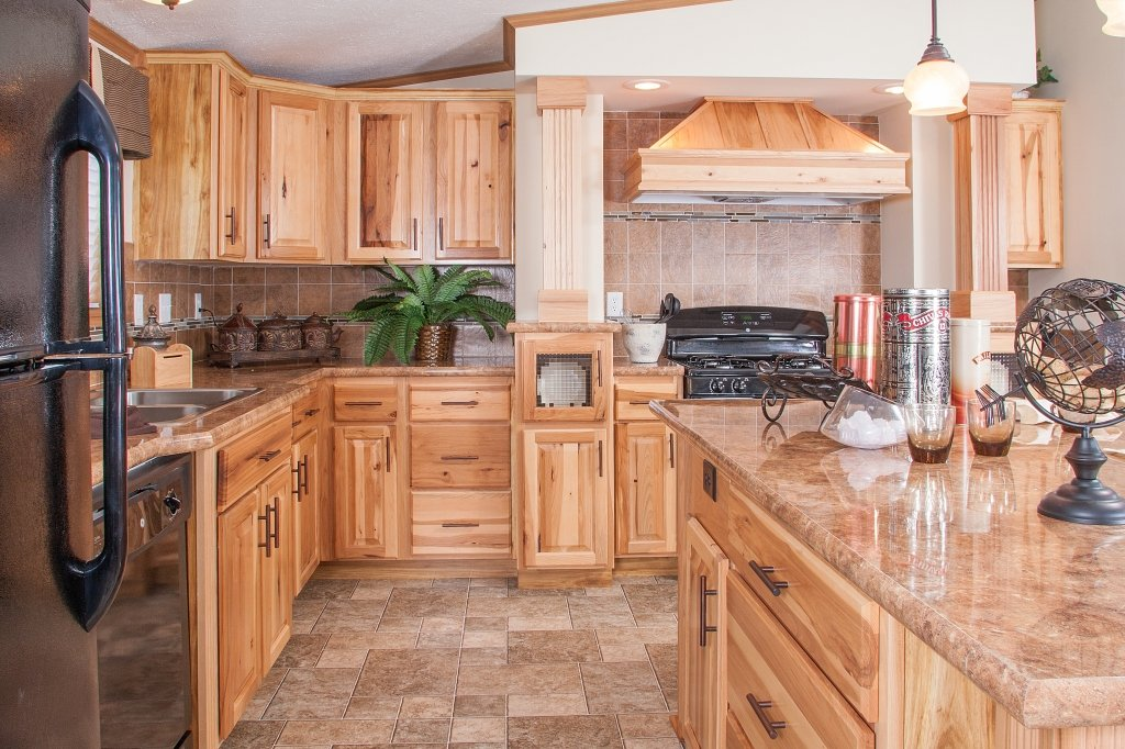 Italian Hickory Rtum Cabinet Cabinet Matttroy Kitchen Tile Ideas For Hickory Cabinets
