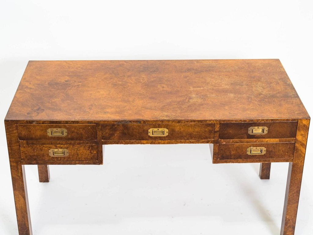 Italian Olive Wood Parson Desk 1stdib What Is A Parsons End Table?