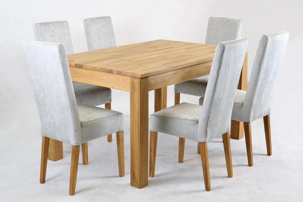 Jack Velvet Dining Chair Oak Leg Light Grey Funique How To Repair Rattan Dining Chairs