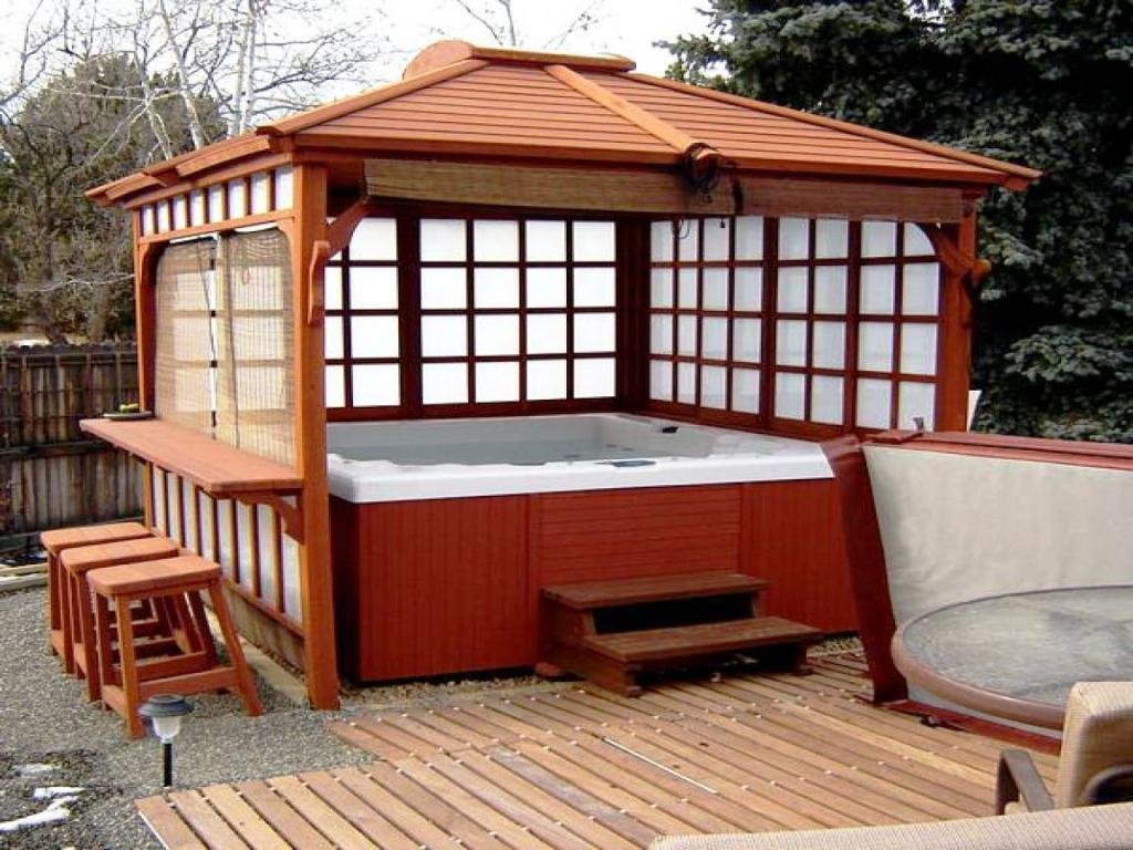 Japanese Pergola Kit Photo Thehrtechnologist Painted The Wicker End Tables