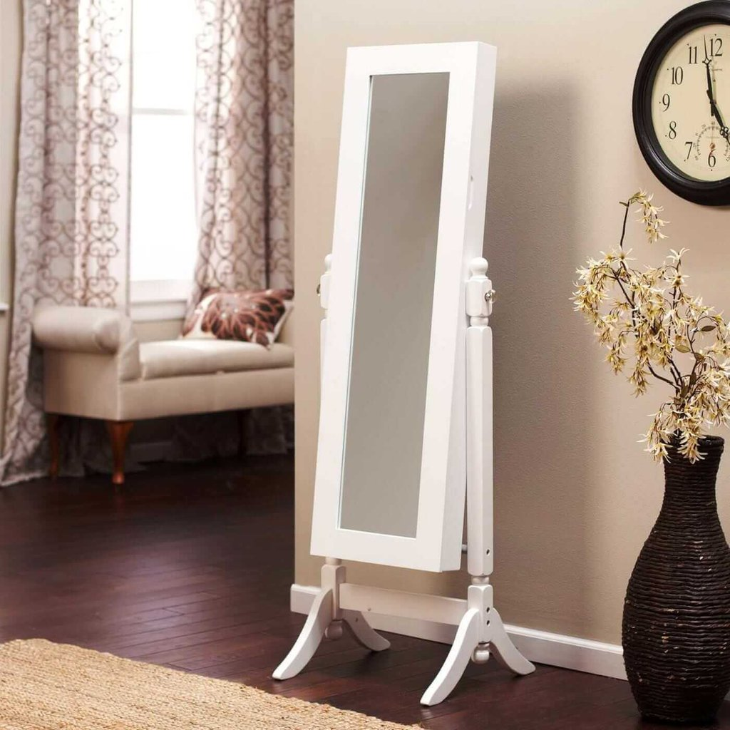 Jewelry Armoire Cheval Mirror Antique Jewelry Mirror Modern Mirrored Console Table