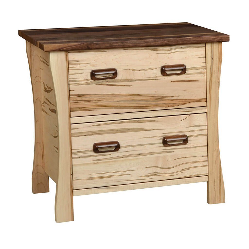 Kaperneum Office Collection Country Wood Accent Lateral File Cabinet Home Ideas