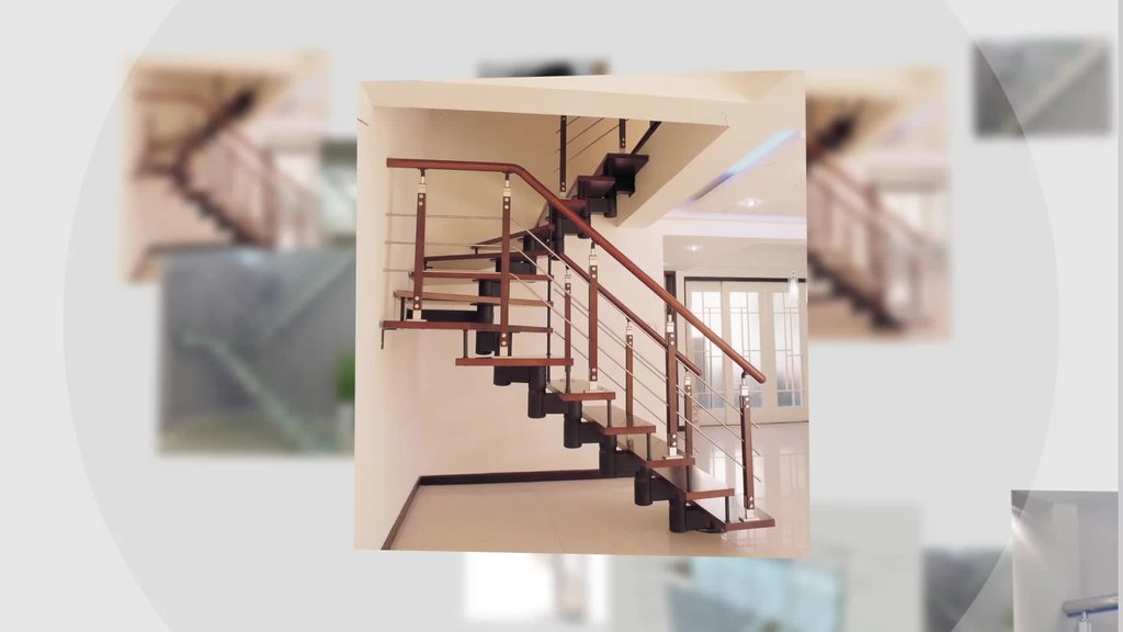 Kind Design Residential Indoor Stair Outdoor Wooden Spiral Staircase