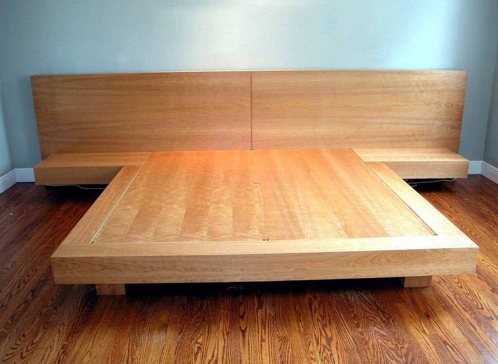 How To Build Solid Wood Platform Bed ~ Loccie Better Homes ...
