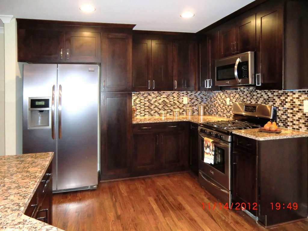 Kitchen Backsplash Picture Dark Cabinet Wow Blog Ideas For Backsplash Ideas With Dark Cabinets