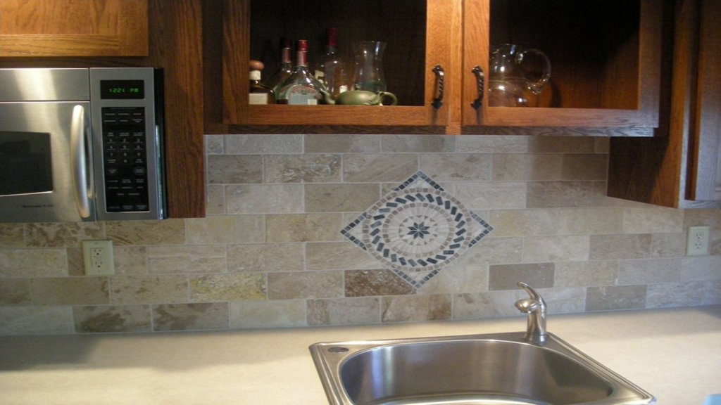 Kitchen Brick Backsplash Stone Brick Backsplash Faux Brick Flooring Finish