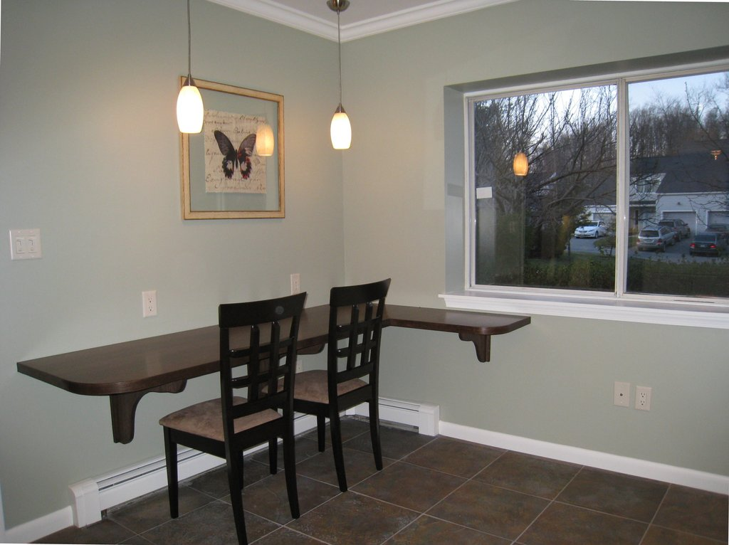 Kitchen Makeover Gut Atwell Staged Home Best Foldable Dining Table