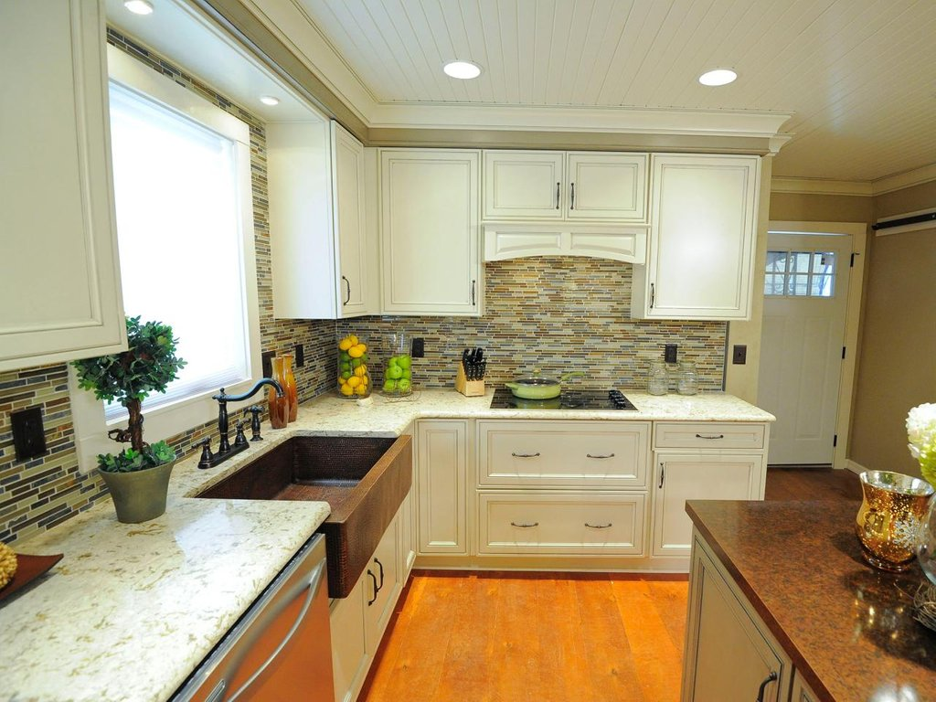Kitchen Picture Remodeled Kitchen Knotty Pine Cabinets