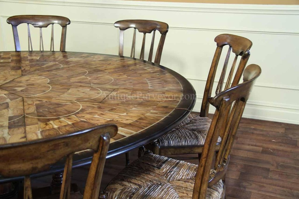 Kitchen Table Seat 21 Increase Classic Round Extendable Dining Table