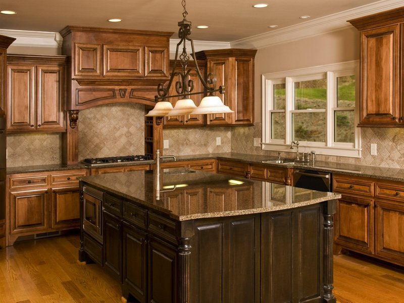 Kitchensweet Tropical Brown Granite Countertop Kitchen Idea Is Travertine Tiles Good For The Bathroom?