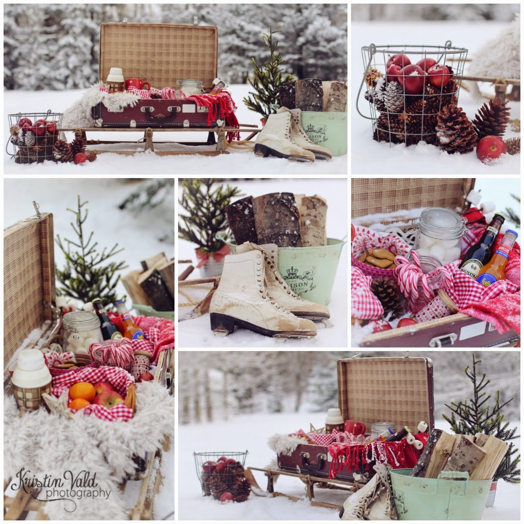 Kristi Vald Christma Calendar December 23 Decorating Square Picnic Table