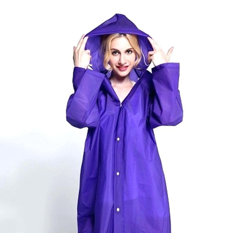 Lady Long Raincoat Adorable Raincoat Hooded Trench Make An King Upholstered Headboard Size Sheet