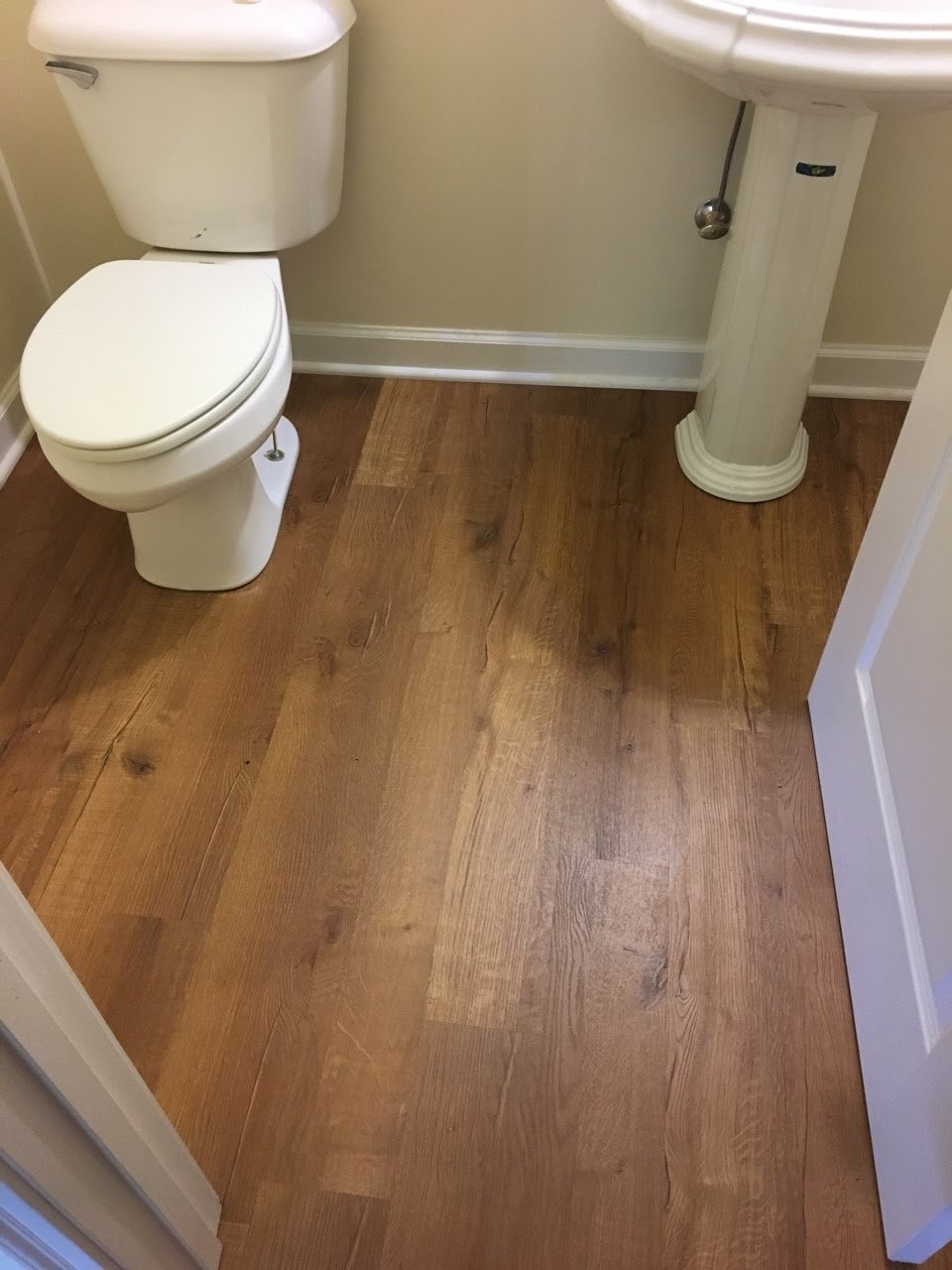 Laminate Flooring Bathroom Homeimprovement Tile Effect Laminate Flooring For Bathrooms