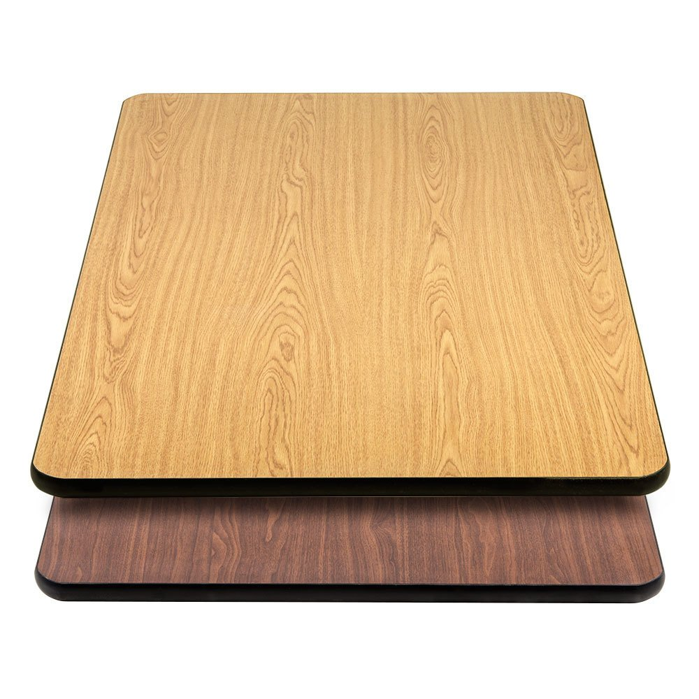 Lancaster Table Seating 30 Quot 48 Quot Laminated Rectangular How To Build Round Wood Table Tops
