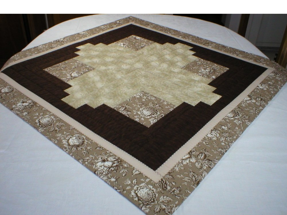 Large Patchwork Table Topper Changing Table Topper Children