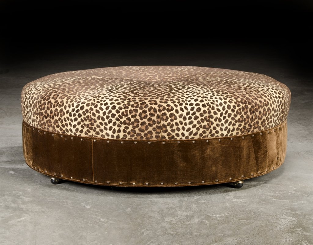 Large Upholstered Ottoman Oversized Ottoman How To Make Round Ottoman Coffee Table