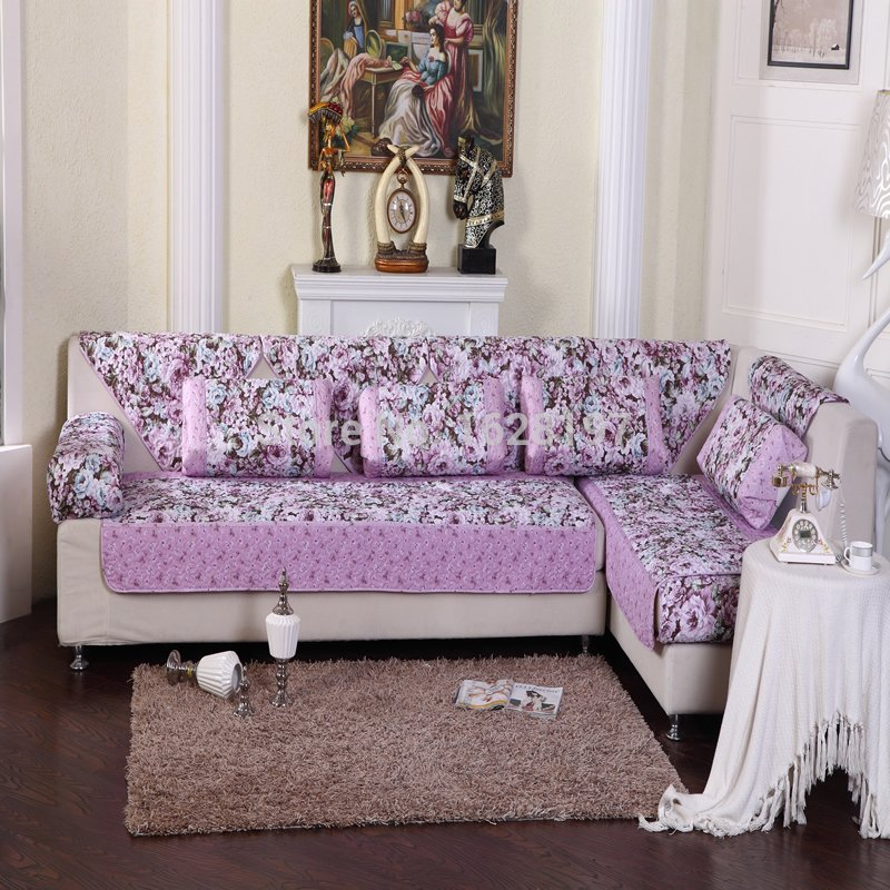 Lavender Sofa Slipcover Light Purple Flower Couch Sofa How A Reclining Sofa To Function Properly