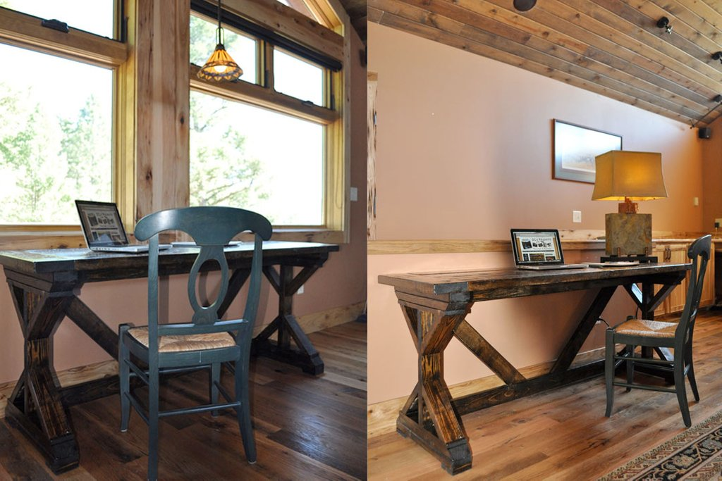 Learn Build Desk Support Beam How To Build Round Wood Table Tops
