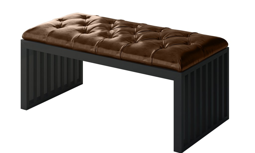 Leather Bench Seat Tufted Leather Texture Adrian Brown Square Leather Ottoman Coffee Table