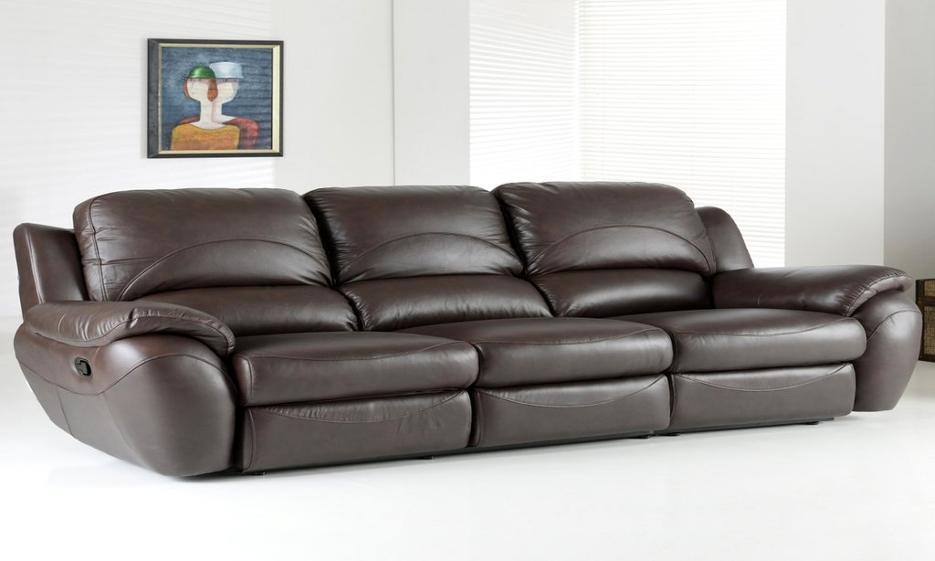 Leather Couch Costco Flexsteel Power Reclining Leather Sectional Sofas For Small Spaces Modern